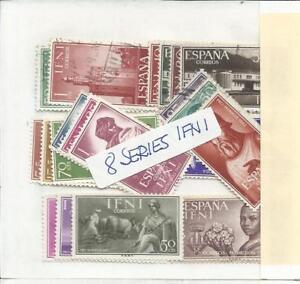 IFNI. Conjunto de 8 Series completas en usado.