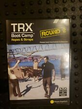 Trx Boot Camp Ropes And Straps Round 2 Dvd With guide