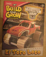 Lowe's Build and Grow--Monster Jam-EL TORO LOCO-Wooden Kit- Build & Play