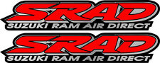 2 SRAD 600 750 SS Ram Air Direct Decals Stickers Emblem Graphics Fairing Decal
