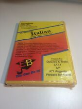 Ace's Italian CD Software Exambusters Study Cards