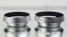 39mm & 49mm Camera Lens Hoods Made Of Aluminium Alloy Hollow.