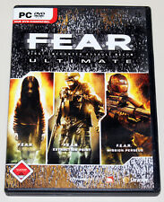 F.E. A.R. Ultimate Edition-Incl. extraction Point missione Perseus-PC DVD Fear