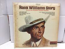 The Hank Williams Story LP Tillman Franks Singers B2
