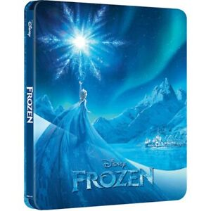 Disney Frozen 4K Ultra HD Blu-ray Limited Edition Steelbook Brand New and Sealed