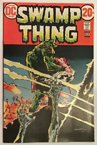 Swamp Thing #3 F/VF to VF- (7.0/7.5) First Series 1973 Wrightson! (BR)