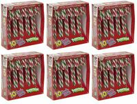 60 x Christmas Tree Peppermint Candy Canes Decoration Sweets Box Gift Stocking