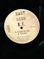 """DT aka DJ A Sides Clear The Air / Serious 12"""" Vinyl Eastside Records Drum & Bass"""