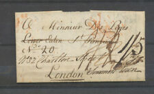 1808 Lettre Marque Ship Lre/PLYMOUTH DOC, de Madeira à Londres X4587