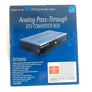 Digital Stream Analog Pass-Through DTV Converter Box DTX9950