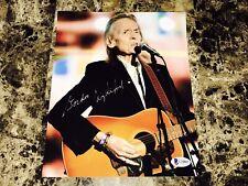 Gordon Lightfoot Rare Signed Autographed 8x10 Photo Beckett Classic Rock COA