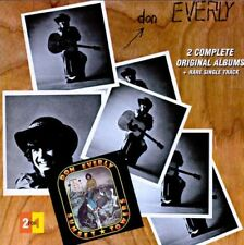 DON EVERLY - SUNSET TOWERS / SELF TITLED - CD - EXCELLENT CONDITION - RVCD-74