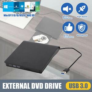 USB 3.0 Slim Portable External DVD-RW CD-RW Combo Drive Burner Reader Player AU