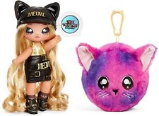 Na Na Na Surprise! Sasha Scratch Cat Symbol Girl Doll Pom Purse Series 3 Read