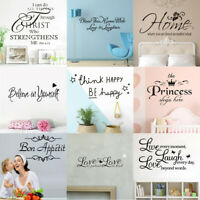 Bathroom Rules Art Wall Stickers Vinyl Removable Decals Mural Home Office Decor
