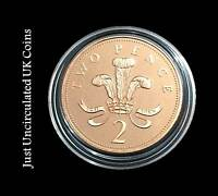 Proof Two Pence Coins 2p 1971 - 2019 Various Years - Royal Mint