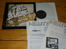 THE BLECH - S/T SAME / GERMANY-VINYL-LP 1985 & 8 PROMO-FACT-BLÄTTER
