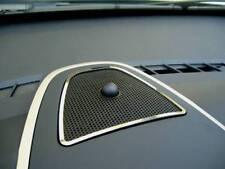 D Opel Corsa D Chrom Rahmen für Gitter Armaturenbrett Mitte - Edelstahl poliert