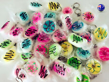 3x Mini Slow rising Donuts Squishies Squishy Keyring key ring holder Squeeze toy