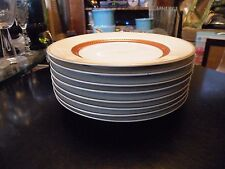 Set of 4 Fitz & Floyd BORDURE ROUGE Bread and Butter Plates Unused Condition!