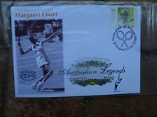 2003 Margaret Court Tennis Alpha First Day Cover
