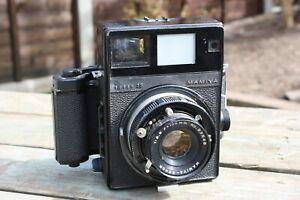 Vintage Medium Format Press Camera - Mamiya Super 23 (Mamiya 100mm 1:3.5 Lens)