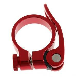 1 x Bike Bicycle BMX MTB Quick Release Seat Post Anodised Clamp 34.9 mm