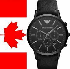 New Emporio Armani AR2461 Sportivo Chronograph Black Dial Men's Watch