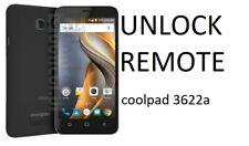 Permanent Remote Unlock Coolpad 3622A Tmobile/MetroPCS