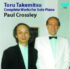 CD TAKEMITSU COMPLETE WORKS for SOLO PIANO PAUL CROSSLEY