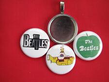 "Beatles changeable Multi-color Pendants Magnetic New  18"" Black  Necklace"