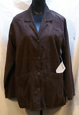 Flax NWT Women's Small Brown Button Front Jacket