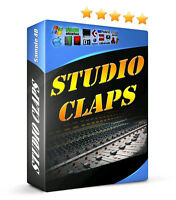 Clap Samples Stacked Thick Drums For Hip Hop Club FL Studio Reason Cubase MPC
