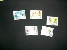 1976 MONTREAL OLYMPIC GAMES ON MALAGASY Stamps