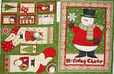 "Debbie Mumm Fabric - Christmas Ho Ho Holiday Stocking -SSI 27"" Panel"