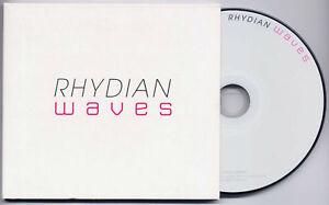 RHYDIAN Waves 2011 UK 10-trk promo CD digipak sleeve