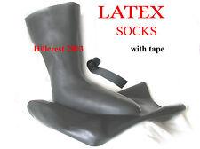 Scuba Diving Dry Suit paire de 3D LATEX CHAUSSETTES (petite chaussure 5-6) avec ruban