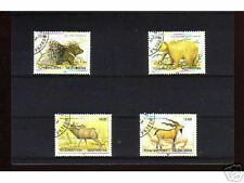 1028++TADJIKISTAN   SERIE TIMBRES  ANIMAUX  SAUVAGES
