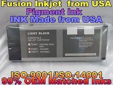 Epson Stylus Pro 4800 Light Black T565700 lk pigment ink cartridges not oem tank