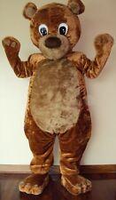 The Cute Bear Mascot Character Costume