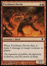 Pitchburn Devils X4 EX/NM Innistrad MTG Magic Cards Red Common