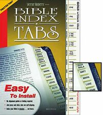 Bible Standard Index Tabs Protestant Version SKU KS167