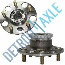 Set (2) New REAR Complete Wheel Hub and Bearing Assembly V6 Accord Acura w/ ABS