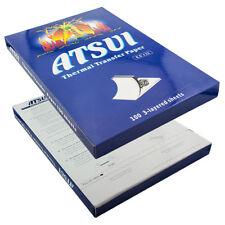 100x ATSUI Thermo Tattoo Matritzenpapier Tattoo Übertragungs Matritzen Papier