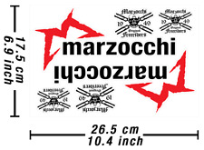 Marzocchi Old School Abziehbild Aufkleber Vinyl Graphic Stickers Adesivi / 592