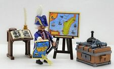 Admiral With Mega Accessories Playmobil To Nautical Charts Writing Desk Sextant