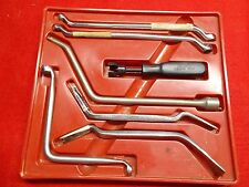 VINTAGE SNAP/ON , No. BTK 7 A, BRAKE TOOL SET (7 Pc.) SET ) SLIGHT USE, 1986 era