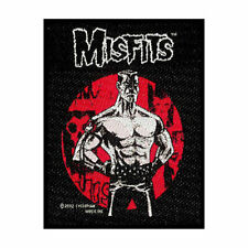 MISFITS LUKIC OFFICIAL LICENSED SEW ON PATCH PUNK BAND BADGE SAMHAIN DANZIG NEW