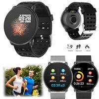 2019 Version Bluetooth Sport Smartwatch Anrufe Erinnerung für iPhone Samsung LG