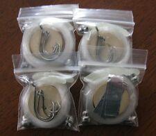 Mini Pocket Fishing Kit, Camping, Survival Kits, Emergency Supplies, Lot of 4